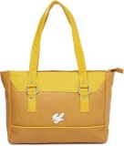 Nyk Shoulder Bag (Yellow, Tan)