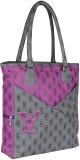 Jewel Fuel Shoulder Bag (Purple, Grey)