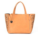 Diana Korr Hand-held Bag (Tan)