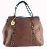 Balooni Hand-held Bag (Brown)