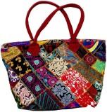 IndiStar Hand-held Bag (Multicolor)