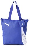 Puma Tote (White, Blue)