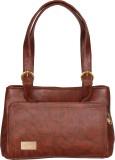 Merci Hand-held Bag (Brown)