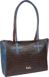 Holii Tote (Brown, Blue)