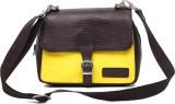 Matrix Shoulder Bag (Yellow, Brown)