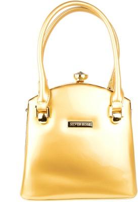 Silver Rose Hand-held Bag