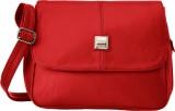 Fristo Women Red PU Sling Bag