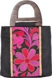 Stylocus Hand-held Bag (Black, Pink)