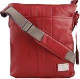 Kara Messenger Bag (Red)
