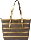 Lomond Shoulder Bag (Brown, Gold)