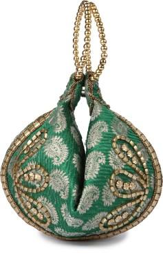 Kleio Pouch Potli(Green)