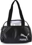 Puma Shoulder Bag (Black, Silver)