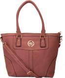 9Design Shoulder Bag (Brown, Beige)