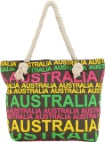 iSweven Tote (Blue, Beige)