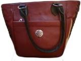 Violet Hand-held Bag (Maroon)