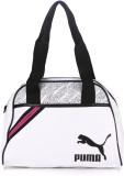 Puma Shoulder Bag (White, Black)