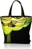 Inspired Livingg Tote (Black, Green)
