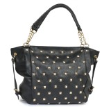 Lychee Bags Shoulder Bag (Black)
