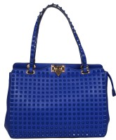 Urban Stitch Hand-held Bag(Blue)