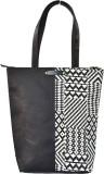 Berserk Shoulder Bag (Black, White)