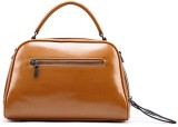 Superimported Hand-held Bag (Brown)