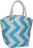 Earthbags Shoulder Bag (White, Blue)