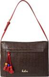 Holii Shoulder Bag (Brown, Red)