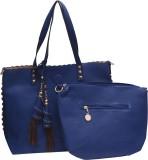 Tanishka Exports Shoulder Bag (Blue)