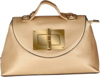 Abrazo Hand-held Bag(Gold)