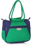 Home Heart Hand-held Bag (Green, Blue)