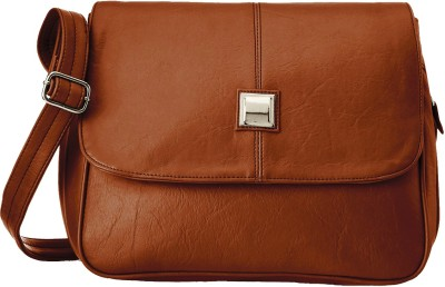 Fristo Women Tan PU Sling Bag