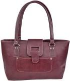 Alia Hand-held Bag (Maroon)