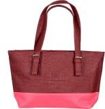 Esskay Messenger Bag (Maroon, Pink)