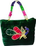 Arisha Kreation Co Hand-held Bag (Green)