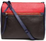 Dressberry Sling Bag (Black, Red)