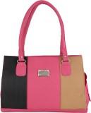 Indian Style Shoulder Bag (Pink, Black)