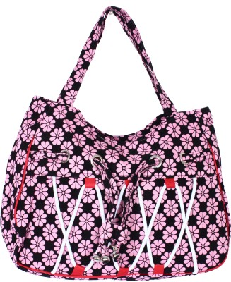 Samsara Hand-held Bag(Pink & Black)