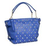 Lychee Bags Shoulder Bag (Blue)
