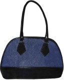 Maayas Hand-held Bag (Blue, Black)