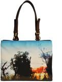 Zaera Shoulder Bag (Blue)