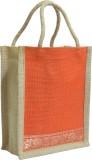 Kriti Creations Hand-held Bag (Orange)