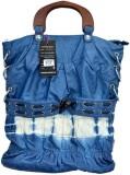 Vintage Hand-held Bag (Blue)
