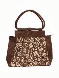 Jute Tree Hand-held Bag (Brown)