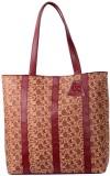Uni Carress Hand-held Bag (Maroon)