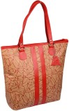 Uni Carress Shoulder Bag (Red, Beige)