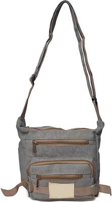 Roshiaaz Sling Bag(Grey)