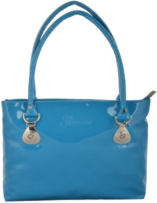 Gouri Bags Hand-held Bag(Blue)