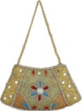 Indian Style Shoulder Bag (Yellow, Blue)