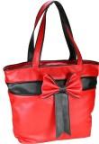 Klazo Hand-held Bag (Red, Black)