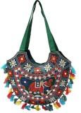 Rastogi Handicrafts Shoulder Bag (Green,...